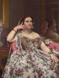 Ingres, Mme Moitessier assise
