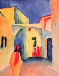 Vue dans une ruelle, 1914