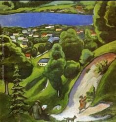 Paysage du Tegernsee, 1910