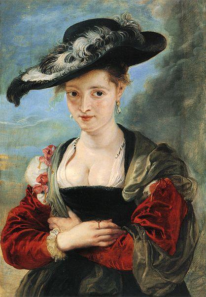 Femme au chapeau de paille (1622-1625)