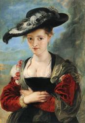 Rubens, Femme au Chapeau de paille