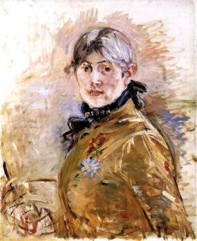 Berthe Morisot. Autoportrait (1885)
