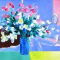 Guiramand. Vase de fleur