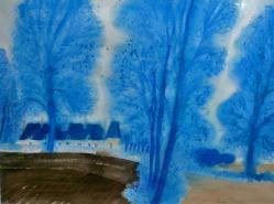 L'hiver bleu