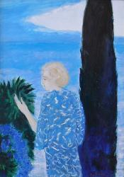 Rêverie devant la mer