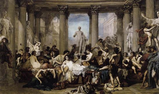Couture. Les Romains de la décadence (1847)