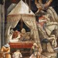 Agnolo Gaddi. Le rêve de l'empereur Héraclius (1385-87)