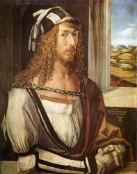 Albrecht Dürer. Autoportrait à 27 ans (1498)