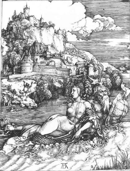 Albrecht Dürer. Le monstre marin (v. 1498)