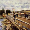 Alfred Sisley. Passerelle d'Argenteuil (1872)