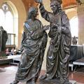 Andrea del Verrocchio. Le Christ et saint Thomas (1467-83)