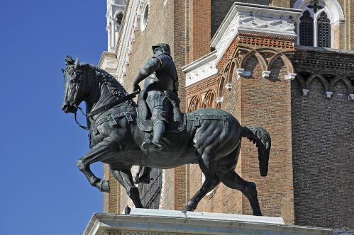 Andrea del Verrocchio. Statue du Colleone (1483-88)