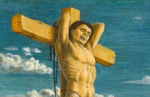 Andrea Mantegna. La Crucifixion, détail