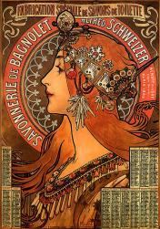 Mucha. Savonnerie de Bagnolet (1907)