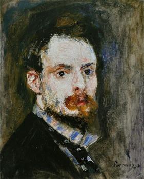 Auguste Renoir. Autoportrait (1875)
