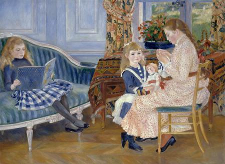 Auguste Renoir. L'après-midi des enfants à Wargemont (1884)