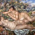 Auguste Renoir. Les Baigneuses (1918-19)
