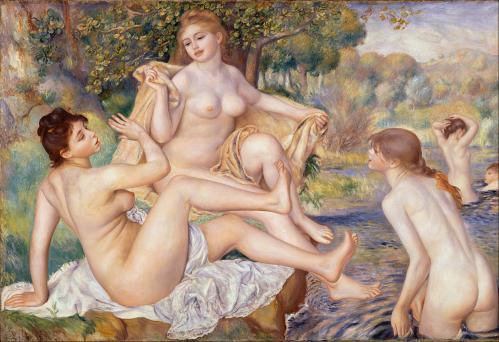 Auguste Renoir. Les Grandes Baigneuses (1884-87)
