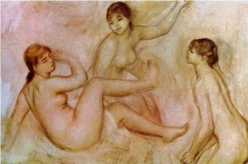 Auguste Renoir. Les Grandes baigneuses, étude préparatoire