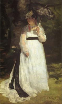 Auguste Renoir. Lise à l'ombrelle (1868)