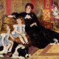 Auguste Renoir. Madame Charpentier et ses enfants (1878)