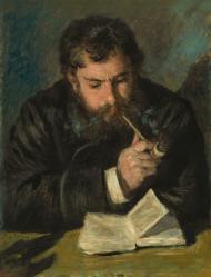 Auguste Renoir. Claude Monet, le liseur (1872)