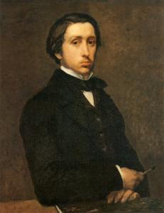 Edgar Degas. Autoportrait (1863)
