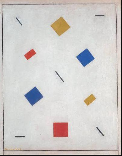 Bart van der Leck. Composition (1918)