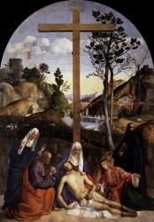 Bellini. Lamentation sur le Christ mort (1515-1516)
