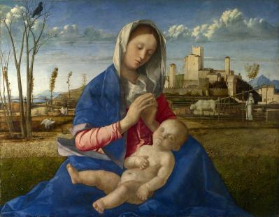 Giovanni Bellini. Madone des prés (1505)