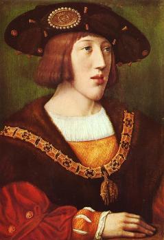 Bernard van Orley. Portrait de Charles Quint (1516)