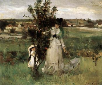 Berthe Morisot. Cache-cache (1873)