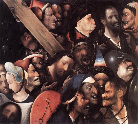 Bosch. Le portement de croix (1515-16)