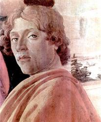 Botticelli. Autoportrait extrait de L'Adoration des mages (v. 1475)