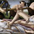Botticelli. Vénus et Mars (v. 1483)