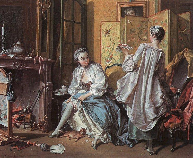 Biographie et uvre de fran ois boucher 1703 1770 for Boucher peintre