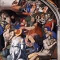 Bronzino. Chapelle d'Eléonore de Tolède, Traversée de la Mer Rouge (1540-45)