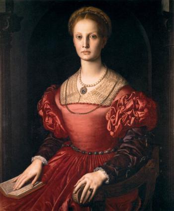 Bronzino. Lucrezia Panciatichi (v. 1540)