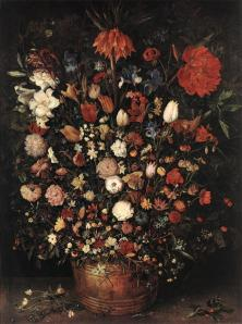 Brueghel. Le Grand Bouquet (1607)