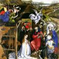 Campin. La nativité (1420-25)