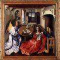 Campin. Triptyque de Mérode (1425-30)