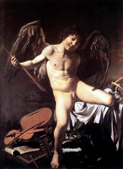 Caravage. Amour victorieux (1602)