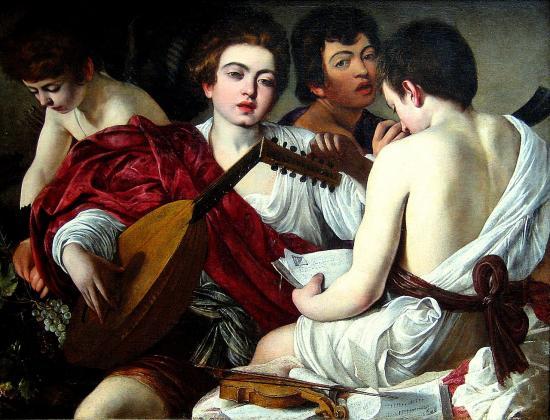 Caravage. Les musiciens (1595)