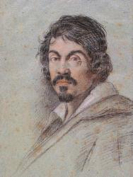 Caravage par Ottavio Leoni (1621)