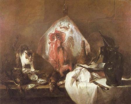 Chardin. La Raie (1728)