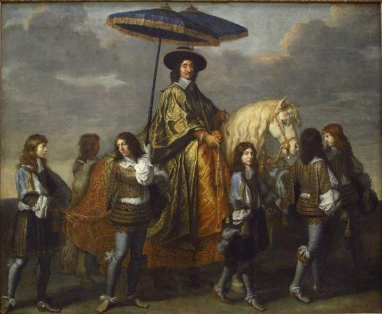 Charles Le Brun. Pierre Séguier, chancelier de France (1655-1661).