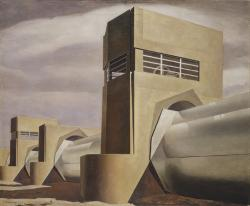 Charles Sheeler. Water (1945)