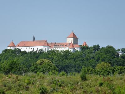 Vue actuelle du château de Wörth an der Danau