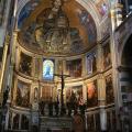 Cimabue. Christ Pantocrator, vue d'ensemble (1301-1302)