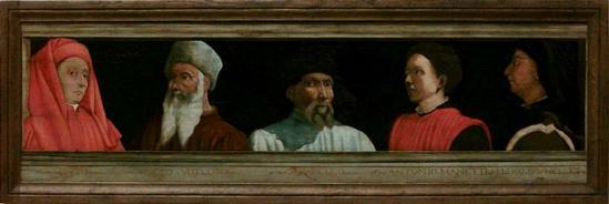 Cinq maîtres de la Renaissance florentine (avant 1550)